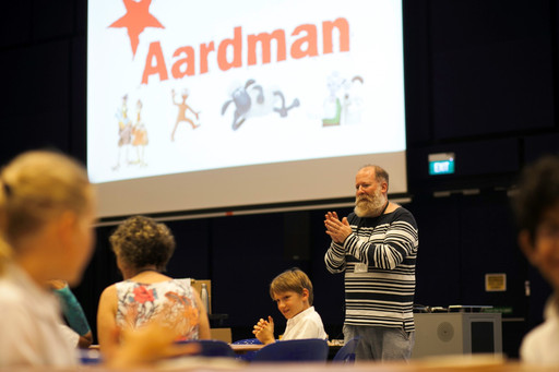 Aardman Animations Visits Tanglin