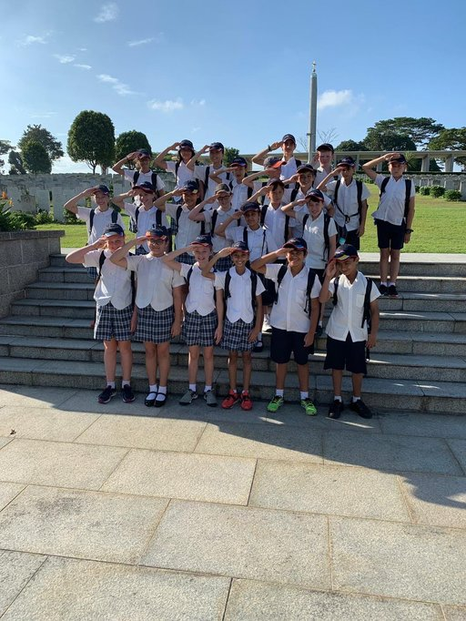 Year 6 Kranji War Memorial and Cemetery Trip