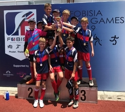 Junior FOBISIA Games Champions
