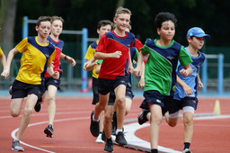 Competitive Sporting Action - Senior Sports Day