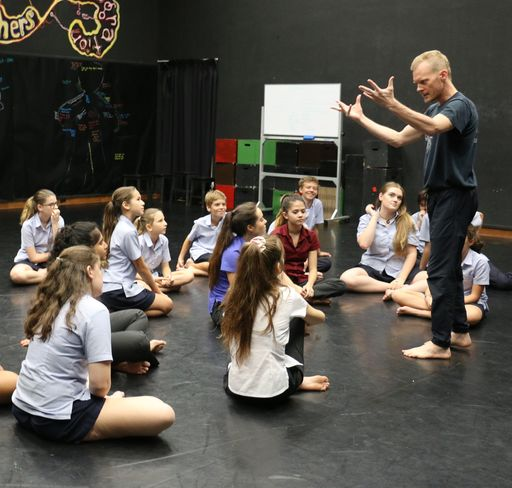 Mark Hill – Visiting Theatre Practitioner