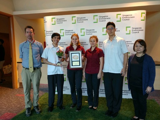 Tanglin Awarded for Sustainability Efforts