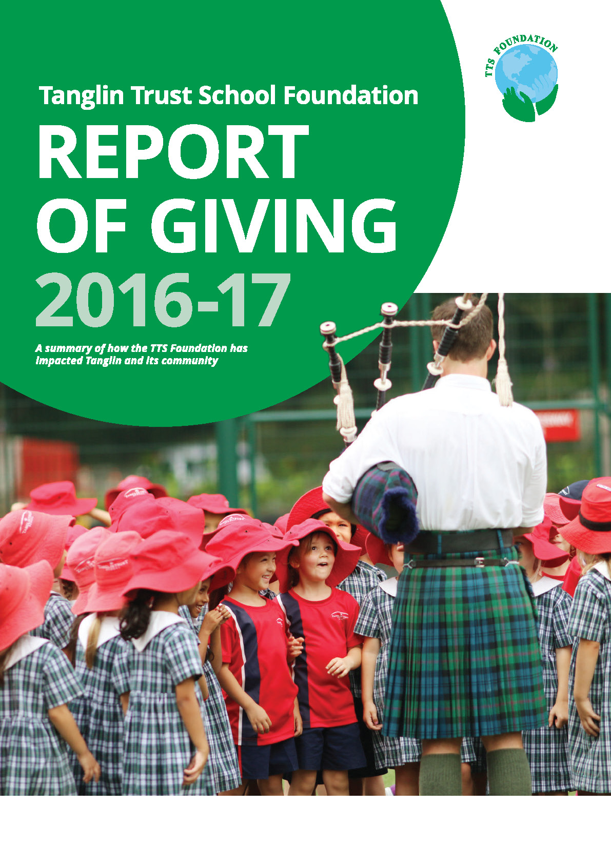 TTS Foundation Report of Giving 2016-17