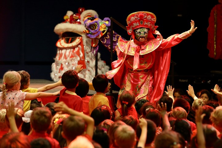 Chinese New Year performances, Infant & Junior Schools